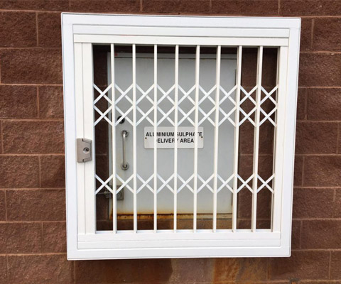 white bespoke solution cage
